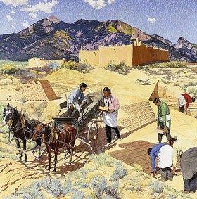 Walter Ufer: Baumeister in der Wüste