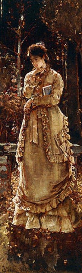 Alfred Stevens: Der Herbst