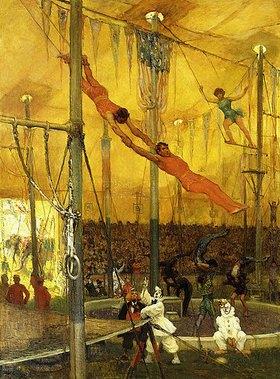 Francis Luis Mora: Trapezkünstler