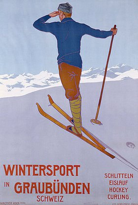 Walter Koch: Wintersport in Graubünden