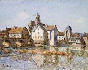 Alfred Sisley: Die Brücke von Moret