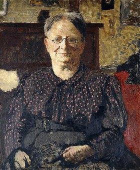 Edouard Vuillard: Porträt von Madame Vuillard
