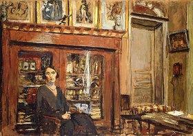 Edouard Vuillard: Frau in einem Interieur