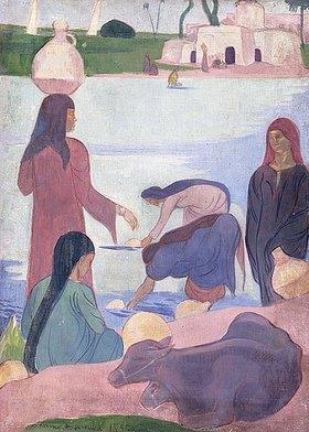 Emile Bernard: Die Wasserträgerinnen