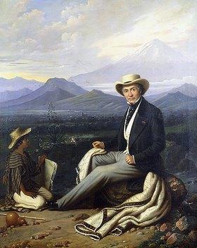 Edouard Henri Théophile Pingret: Selbstbildnis