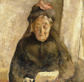 Edouard Vuillard: Porträt der Großmutter Michaud - der guten Mutter (Portrait de la grand-mère michaud - bonne maman)