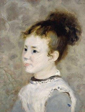 Auguste Renoir: Porträt von Jeanne Sisley