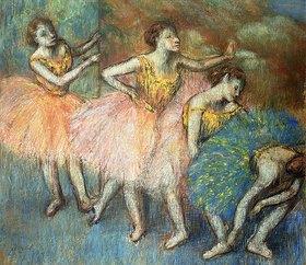 Edgar Degas: Tänzerinnen in grün und gelb (Danseuses Vertes et Jaunes)