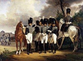 Emile Jean Horace Vernet: Porträt des Generals Marquis de Talhouët-Roy