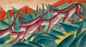 Franz Marc: Affenfries. 1911.