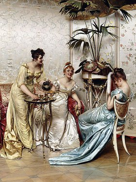 Joseph Frederick Charles Soulacroix: Teestunde