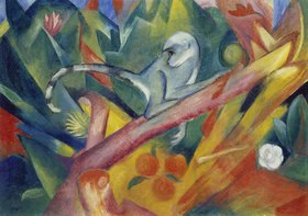Franz Marc: Das Äffchen