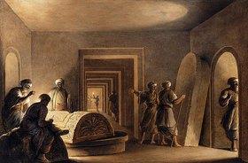 Luigi Mayer: In einer ägyptischen Grabkammer