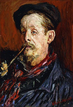Claude Monet: Porträt von Leon Peltier. 1879 - claude-monet-portrat-von-leon-peltier-1879