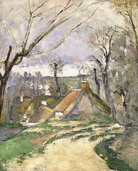 Paul Cézanne: Häuser in Auvers (Les chaumières à Auvers)