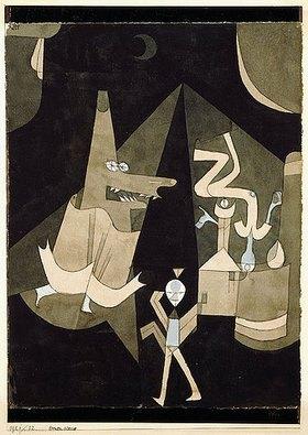 Paul Klee: Hexenscene
