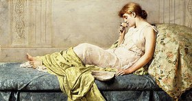 Henry Thomas Schafer: Die Rose (The Boudoir Rose)