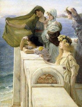 Sir Lawrence Alma-Tadema: An Aphrodites Ursprung