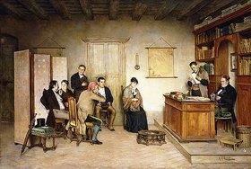 Achille Glisenti: Die Verlesung des Testaments
