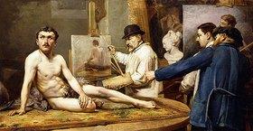 Enrico Bogliani: Vor dem Maler