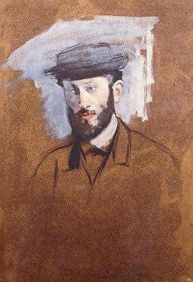 Edgar Degas: Porträt von Eugène Manet