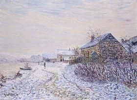 Gustave Loiseau: Schnee in Tournedos-sur-Seine