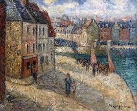 Gustave Loiseau: Kai in Dieppe