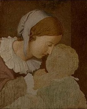 Johann Friedrich Overbeck: Mutter und Kind