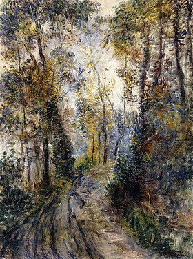Auguste Renoir: Der Waldweg (Le Chemin dans la Forêt)
