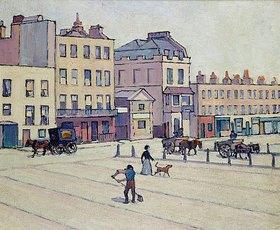 Robert Bevan: The Weigh House, Cumberland Market