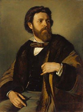 Anselm Feuerbach: Bildnis des Kupferstechers Julius Allgeyer