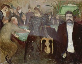 Edvard Munch: Spielsaal in Monte Carlo (Roulette II.)