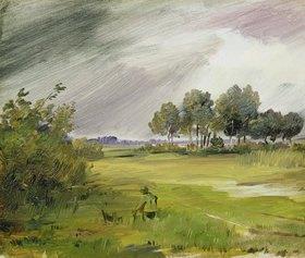 Wilhelm Busch: Regenlandschaft