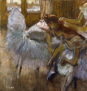 Edgar Degas: Tänzerinnen sich ausruhend (Danseuses au Repos)