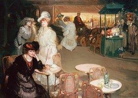 Richard Edward Miller: Cocktail-Stunde in einem Nachtcafé (L'Heure de l'Apéritif, Café de Nuit)