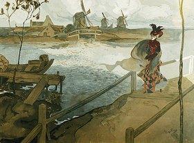 Georges de Feure: Der Windstoß