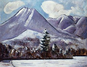 Marsden Hartley: Mount Katahdin, Winter No