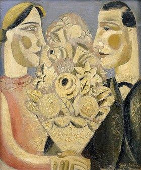 Gustaaf De Smet: Der Blumenstrauß (Le Bouquet or Der Bloemtuil)