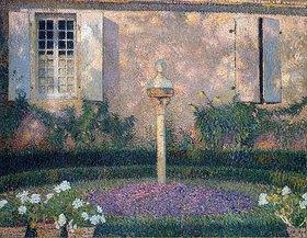 Henri Martin: Der Garten eines Hauses (Le Jardin d'une Maison)