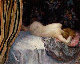 Henri Lebasque: Schlafende Frau