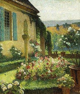 Henri Martin: Der Garten des Künstlers (Le Jardin de l'Artiste)