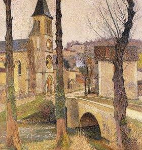 Henri Martin: Die Brücke in Labastide-du-Vert
