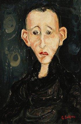 Chaim Soutine: Der Junge in schwarz (Le Garçon en Noir)