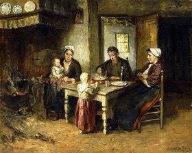 Bernard de Hoog: Abendessen
