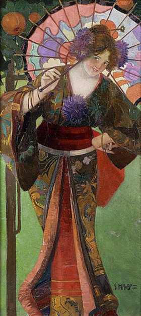 Sergius Hruby: Geisha