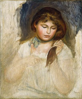 Auguste Renoir: Gabrielle (Tête de Gabrielle)