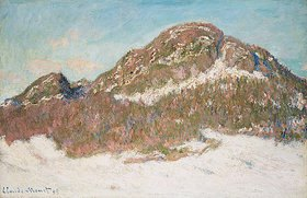 Claude Monet: Der Berg Kolsås im Sonnenlicht (Le Mont Kolsaas, Effet de Soleil)