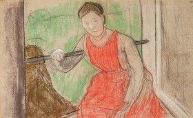 Frau an einem Fenster (Femme à la Fenêtre)