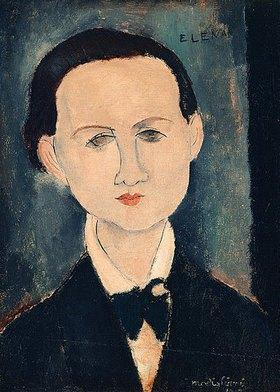 Amadeo Modigliani: Elena Povolozky