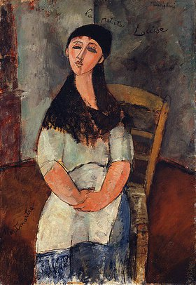 Amadeo Modigliani: Die kleine Louise (La Petite Louise)